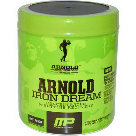 Arnold, Iron Dream, Concentrated Nighttime Recovery, Fruit Punch, 5.92oz (168g)