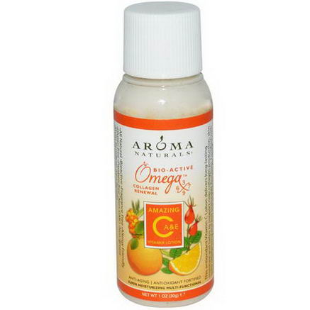 Aroma Naturals, Vitamin C Lotion, Amazing C, A & E, 1oz (30g)
