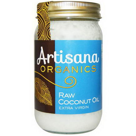 Artisana, Organics, Raw Coconut Oil, Extra Virgin, 16 fl oz (473 ml)