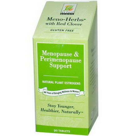 At Last Naturals, Meno-Herbs with Red Clover, 90 Tablets