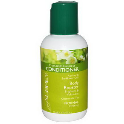 Aubrey Organics, Conditioner, Body Booster, Chamomile Luxurious, 2 fl oz (59 ml)