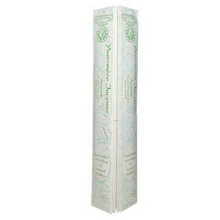 Auromere, Ayurvedic Incense, Mattipal, Peace, 12 Packs, 10g Each