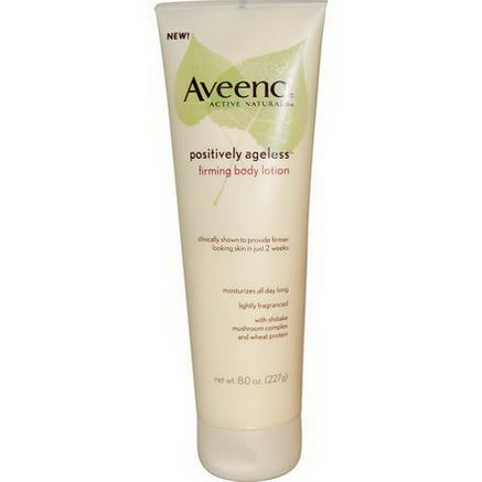 Aveeno, Active Naturals, Positively Ageless, Firming Body Lotion, 8.0oz (227g)