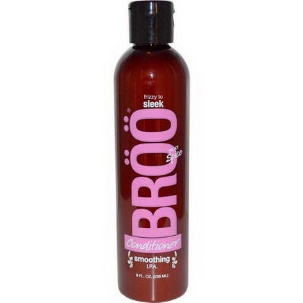 Broo, Conditioner, Frizzy to Sleek, Smoothing I. P. A. Silky Spice, 8 fl oz (236 ml)