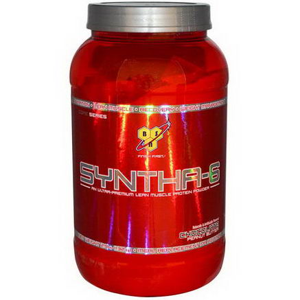 BSN, Syntha-6, Meal Replacement / Addition, Chocolate-Peanut Butter, 2.91 lbs (1.32 kg)