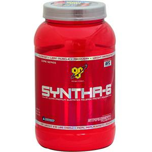 BSN, Syntha-6, Meal Replacement / Addition, Strawberry Milkshake, 2.91 lbs (1320g)