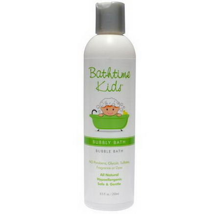 Bathtime Kids, Bubbly Bath, Bubble Bath, 8.5 fl oz (250 ml)