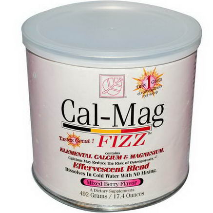 Baywood, Cal-Mag Fizz, Mixed Berry Flavor, 17.4oz (492g)