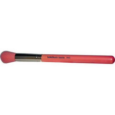 Bdellium Tools, Pink Bambu Series, Face 945, 1 Contour Brush