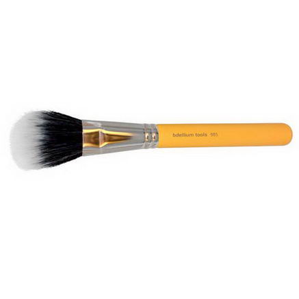 Bdellium Tools, Studio Line, Face 985, 1 Duet Fiber Powder Brush