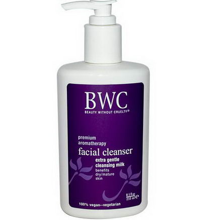 Beauty Without Cruelty, Facial Cleanser, Extra Gentle Cleansing Milk, 8.5 fl oz (250 ml)