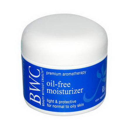 Beauty Without Cruelty, Oil-Free Moisturizer, 2oz (56g)