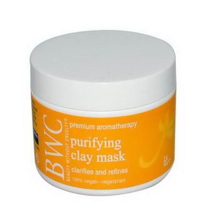Beauty Without Cruelty, Purifying Clay Mask, 2oz (56g)