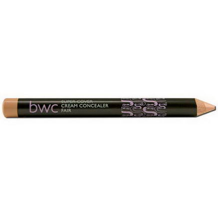 Beauty Without Cruelty, Super Cover Cream Concealer Pencil, Fair, 0.14oz (4.0g)