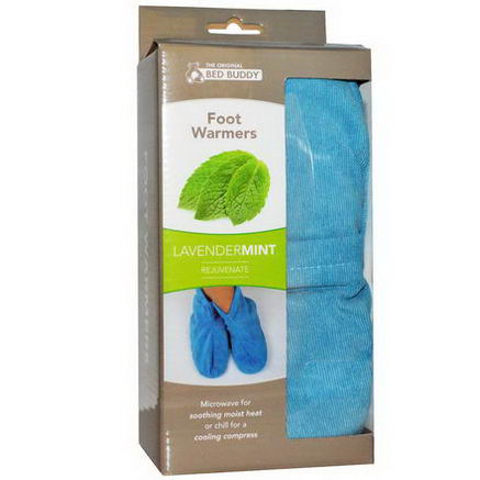 Bed Buddy, Foot Warmers, Lavender Mint, 1 Pair