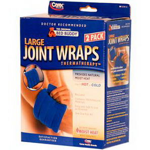 Bed Buddy, Large Joint Wraps, Thermatherapy, One Size Fits All, 2 Pack
