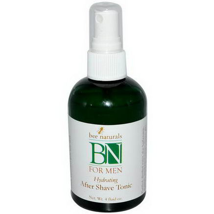 Bee Naturals, BN For Men, Hydrating After Shave Tonic, 4 fl oz