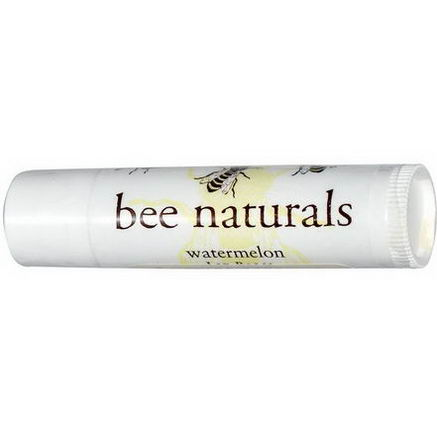 Bee Naturals, Lip Balm, Watermelon, 0.15oz