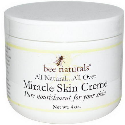 Bee Naturals, Miracle Skin Creme, 4oz