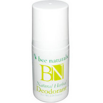 Bee Naturals, Natural Herbal Deodorant, 2.25 fl oz