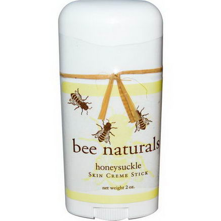 Bee Naturals, Skin Creme Stick, Honeysuckle, 2oz
