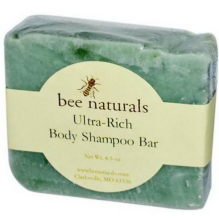 Bee Naturals, Ultra-Rich Body Shampoo Bar, 4.5oz