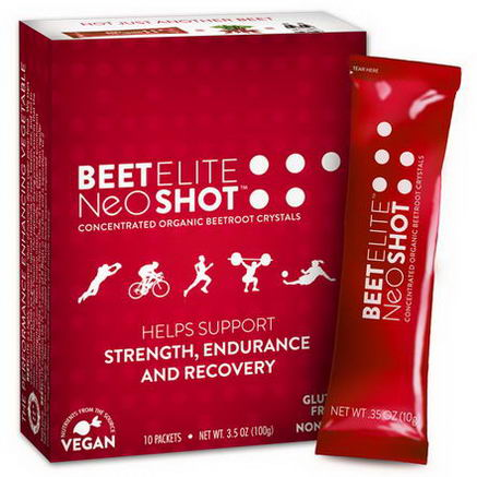 BeetElite, Neogenis Sport, BeetElite, NeoShot, 10 Packets, 35oz (10g) Each