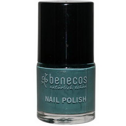 Benecos, Nail Polish, Pepper Green, 9 ml