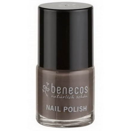 Benecos, Nail Polish, Taupe Temptation, 9 ml