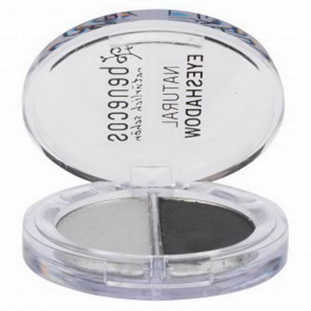 Benecos, Natural Duo-Eyeshadow, Shady Grays, 4g