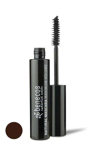 Benecos, Natural Mascara, Maximum Volume, Smooth Brown, 8 ml