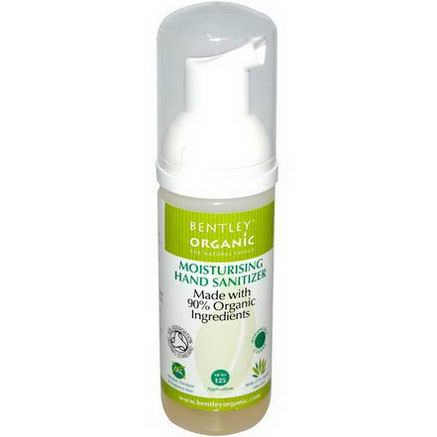 Bentley Organic, Moisturizing Hand Sanitizer, 1.6 fl oz (50 ml)