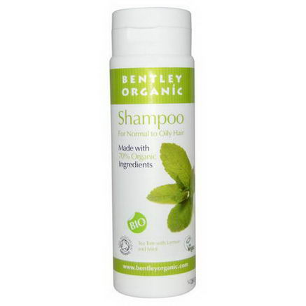 Bentley Organic, Shampoo, Tea Tree with Lemon and Mint, 8.4 fl oz (250 ml)
