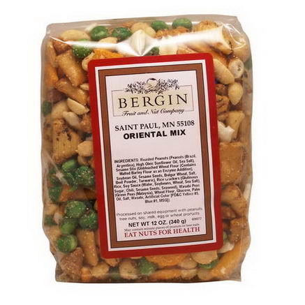Bergin Fruit and Nut Company, Oriental Mix, 12oz (340g)