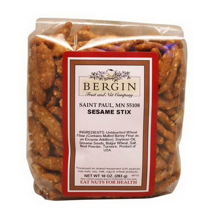 Bergin Fruit and Nut Company, Sesame Stix, 10oz (283g)