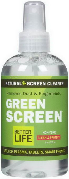 Better Life, Green Screen, Natural Screen Cleaner, 8oz (236 ml)