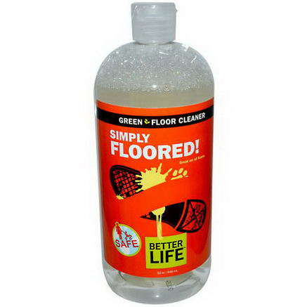 Better Life, Simply Floored, Green Floor Cleaner, 32oz (946 ml)