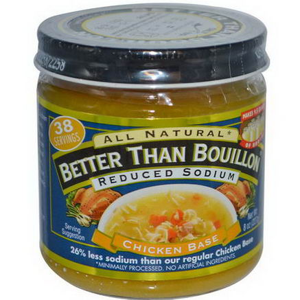Better Than Bouillon, Chicken Base, Reduced Sodium, 8oz (227g)