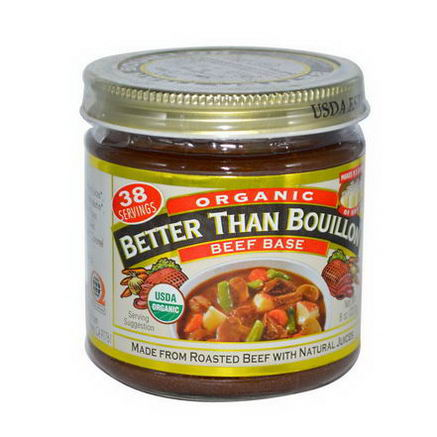 Better Than Bouillon, Organic Beef Base, 8oz (227g)