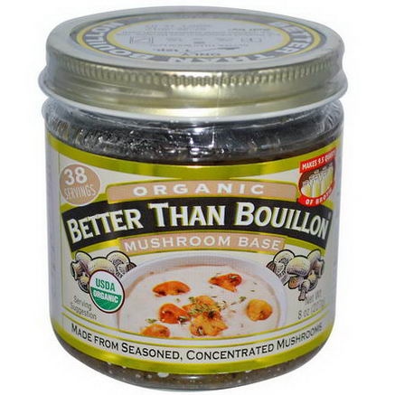 Better Than Bouillon, Organic, Mushroom Base, 8oz (227g)