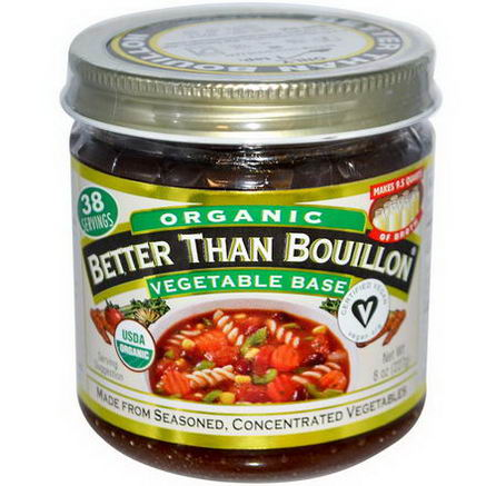 Better Than Bouillon, Organic, Vegetable Base, 8oz (227g)