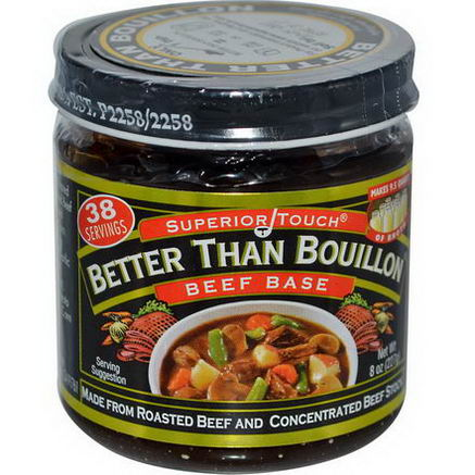 Better Than Bouillon, Superior Touch, Beef Base, 8oz (227g)