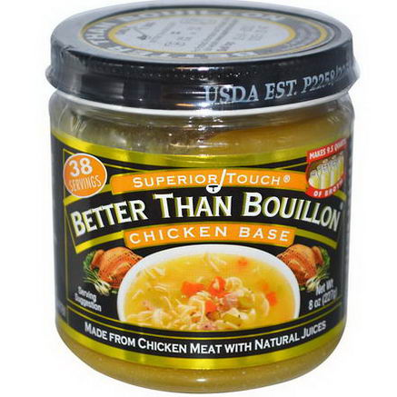 Better Than Bouillon, Superior Touch, Chicken Base, 8oz (227g)
