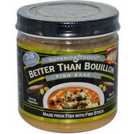 Better Than Bouillon, Superior Touch, Fish Base, 8oz (227g)