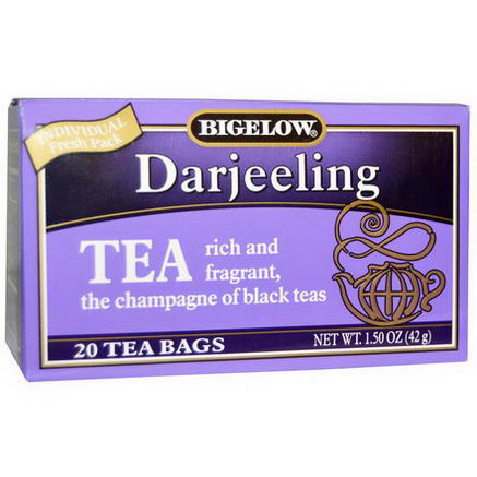 Bigelow, Darjeeling, 20 Tea Bags, 1.50oz (42g)