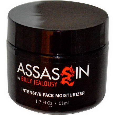 Billy Jealousy, Assassin, Intensive Face Moisturizer, 1.7 fl oz (51 ml)