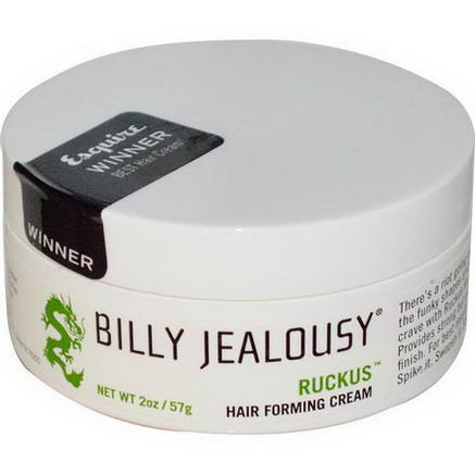 Billy Jealousy, Ruckus, Hair Forming Cream, 2oz (57g)