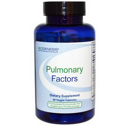 Bio-Genesis Nutraceuticals, Pulmonary Factors, 90 Veggie Caps