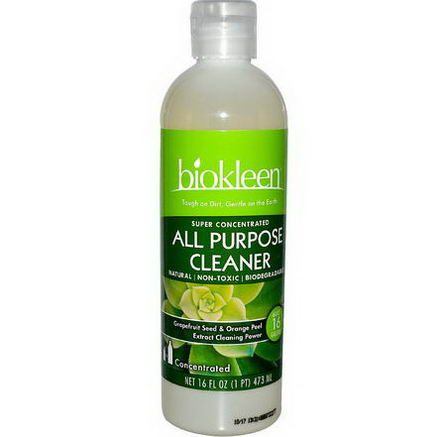 Bio Kleen, All Purpose Cleaner, Super Concentrated, 16 fl oz (473 ml)