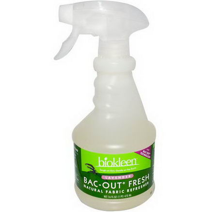 Bio Kleen, Bac-Out Fresh, Natural Fabric Refresher, Lavender, 16 fl oz (473 ml)